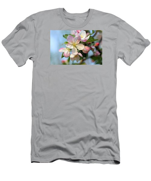 Apple Blossom Men's T-Shirt (Slim Fit) by Kristin Elmquist