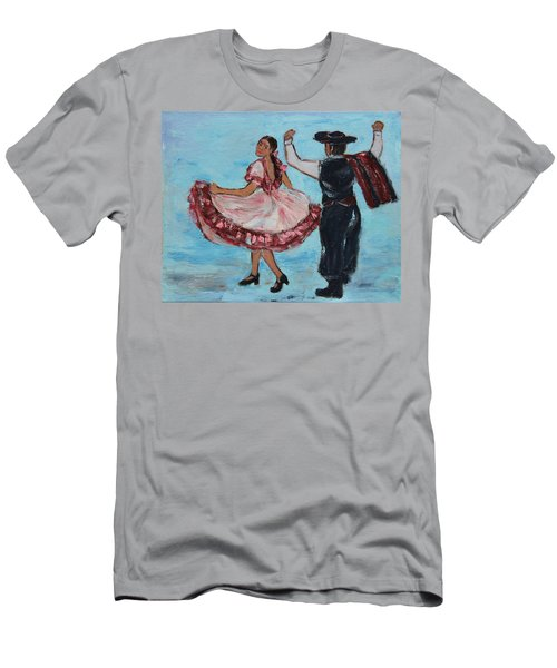 Argentinian Folk Dance Men's T-Shirt (Athletic Fit)