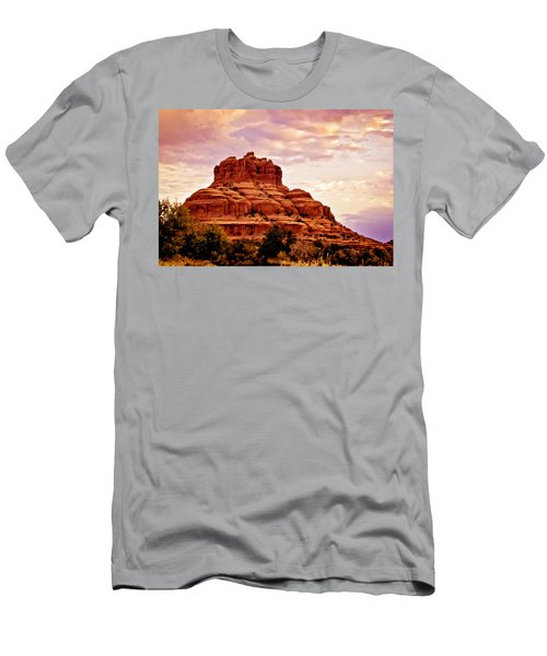 Bell Rock Vortex Painting Men's T-Shirt (Athletic Fit)