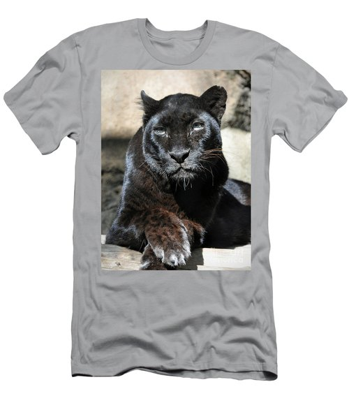 The Black Leopard Men's T-Shirt (Athletic Fit)