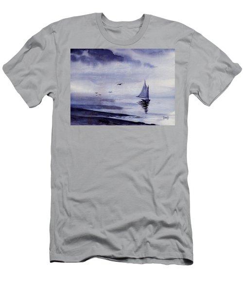 Boat Men's T-Shirt (Slim Fit) by Sam Sidders