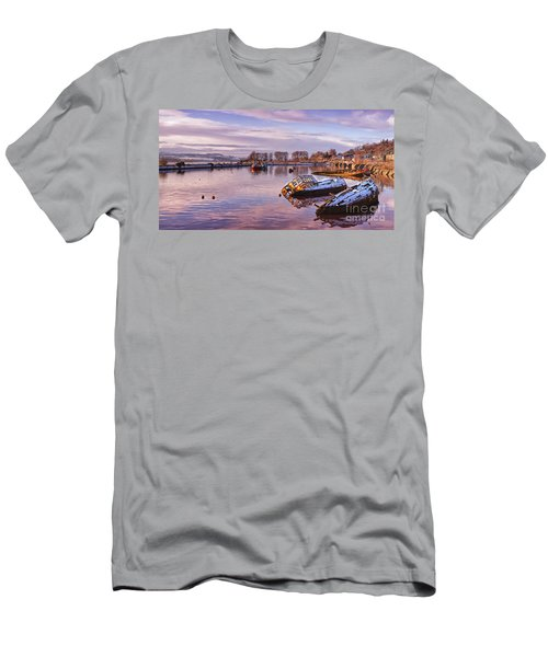 Bowling Harbour Panorama 02 Men's T-Shirt (Athletic Fit)