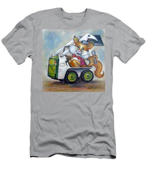 Cat C5x 190312 Men's T-Shirt (Slim Fit) by Selena Boron