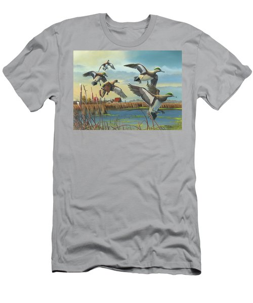 Coming Home Men's T-Shirt (Slim Fit) by Mike Brown