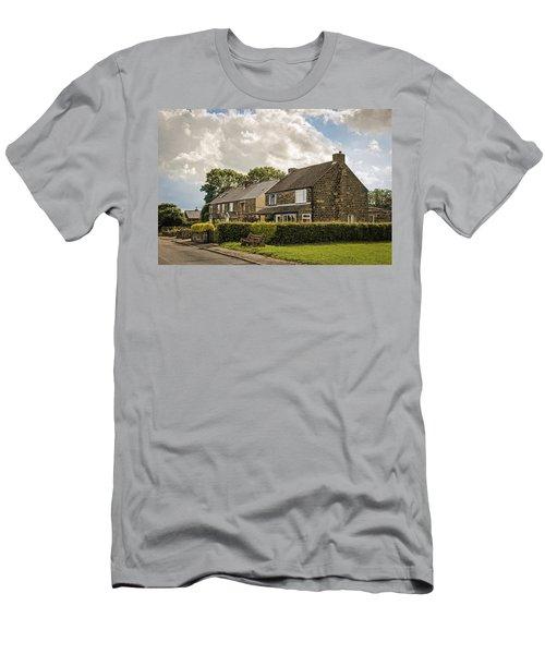 Derbyshire Cottages Men's T-Shirt (Athletic Fit)