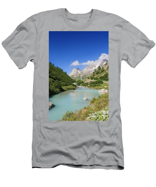 Dora Stream. Veny Valley Men's T-Shirt (Athletic Fit)