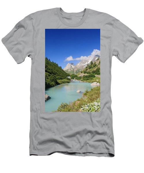 Dora Stream. Veny Valley Men's T-Shirt (Athletic Fit)