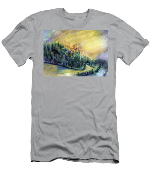 Enchanted Island Men's T-Shirt (Athletic Fit)