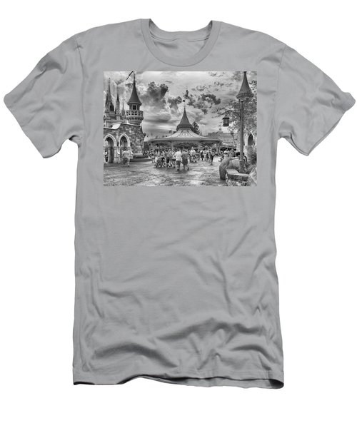 Men's T-Shirt (Athletic Fit) featuring the photograph Fantasyland by Howard Salmon