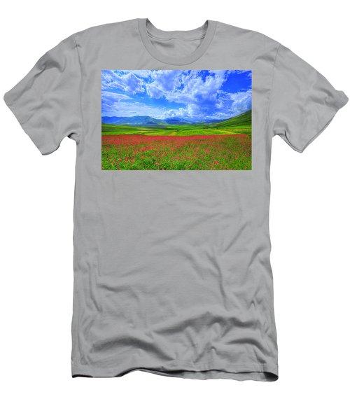 Fields Of Dreams Men's T-Shirt (Athletic Fit)