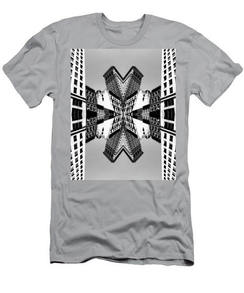 Men's T-Shirt (Athletic Fit) featuring the photograph Flat Iron by Keith McGill