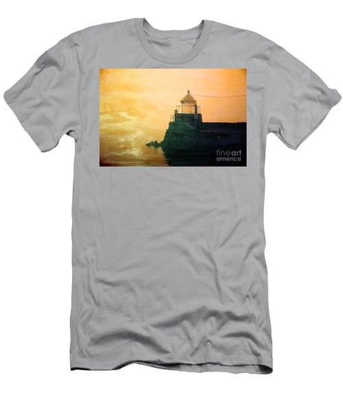 Fyllinga Lighthouse Men's T-Shirt (Athletic Fit)