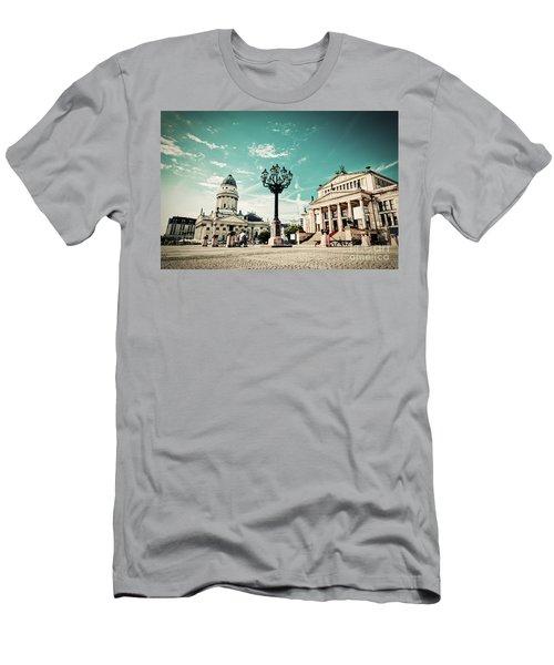 Gendarmenmarkt In Berlin Germany Men's T-Shirt (Athletic Fit)