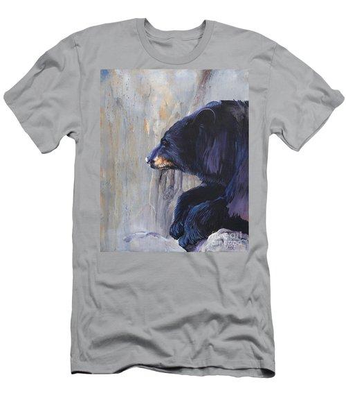 Grandfather Bear Men's T-Shirt (Slim Fit) by J W Baker