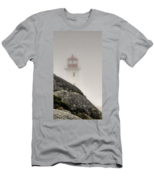 Halifax Fog Men's T-Shirt (Slim Fit) by Jennifer Wheatley Wolf