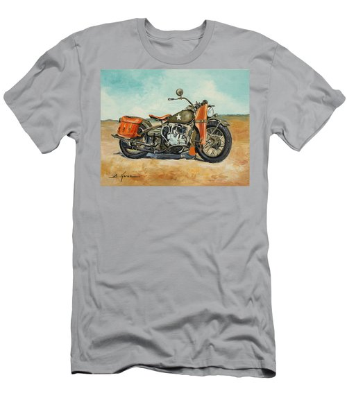 Harley Davidson Wla 1942 Men's T-Shirt (Athletic Fit)