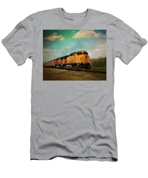 Hear The Train A Coming Men's T-Shirt (Athletic Fit)