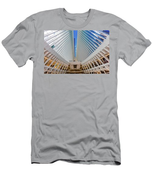 Interior View Of Oculus Transportation Men's T-Shirt (Athletic Fit)