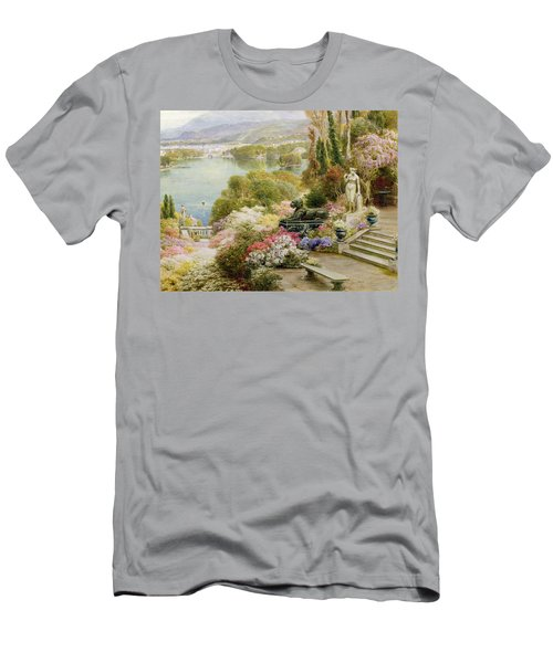 Lake Maggiore Men's T-Shirt (Athletic Fit)