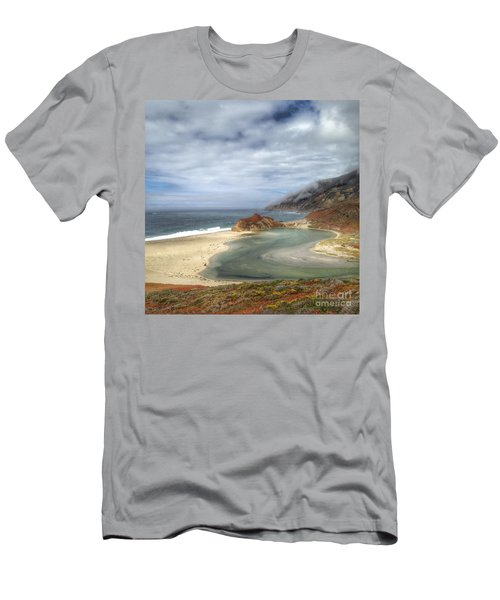 Little Sur River In Big Sur Men's T-Shirt (Athletic Fit)