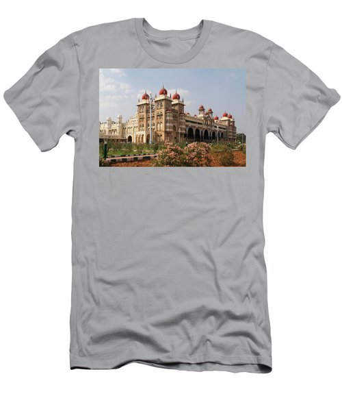 Maharaja's Palace And Garden India Mysore Men's T-Shirt (Slim Fit) by Carol Ailles