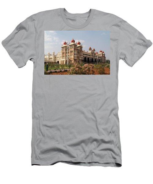 Maharaja's Palace And Garden India Mysore Men's T-Shirt (Athletic Fit)