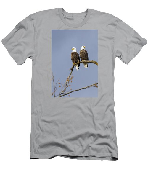 Men's T-Shirt (Slim Fit) featuring the photograph Majestic Beauty 5 by David Lester