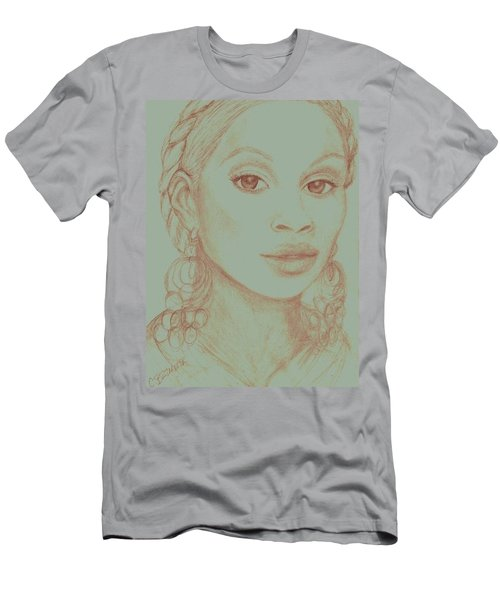 Mary J Blige Men's T-Shirt (Slim Fit) by Christy Saunders Church