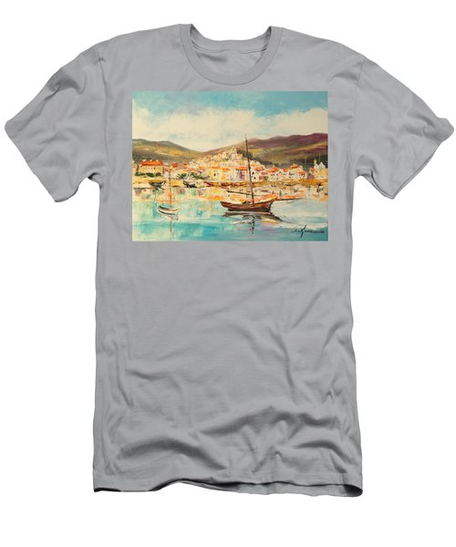 Mentone Harbour Men's T-Shirt (Athletic Fit)