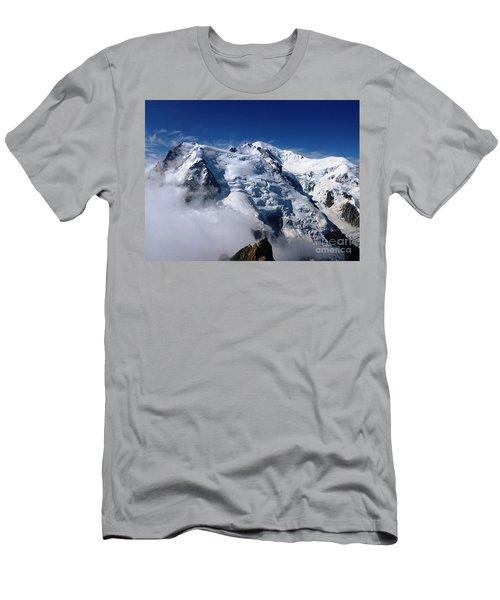 Mont Blanc - France Men's T-Shirt (Athletic Fit)