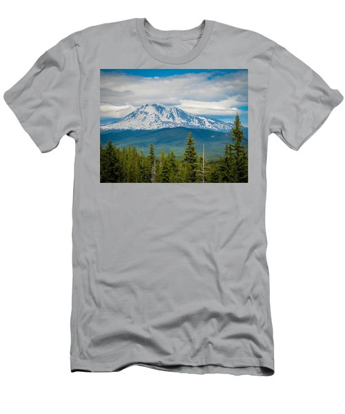 Mt. Adams From Indian Heaven Wilderness Men's T-Shirt (Athletic Fit)