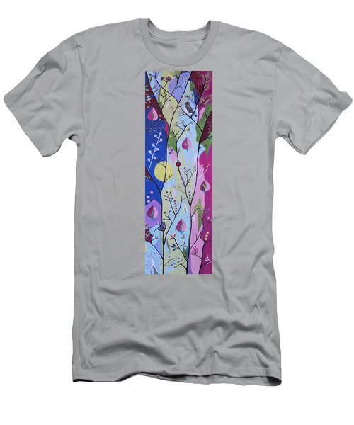Men's T-Shirt (Slim Fit) featuring the painting Nature's Bounty by Kathleen Sartoris