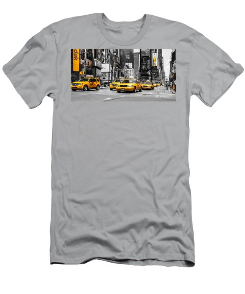 Nyc Yellow Cabs - Ck Men's T-Shirt (Athletic Fit)