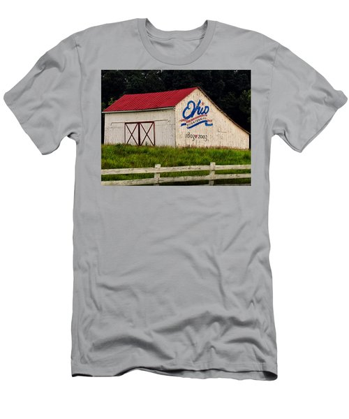 Ohio Bicentennial Barn Men's T-Shirt (Athletic Fit)