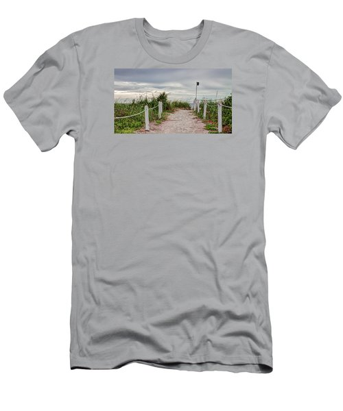 Pathway To The Beach Men's T-Shirt (Athletic Fit)