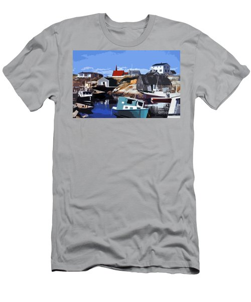 Peggy's Cove Men's T-Shirt (Athletic Fit)