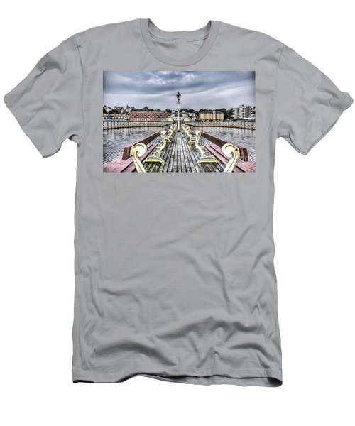 Penarth Pier 5 Men's T-Shirt (Slim Fit)