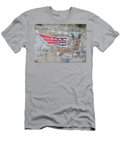 Piasa Bird Men's T-Shirt (Slim Fit) by Kelly Awad