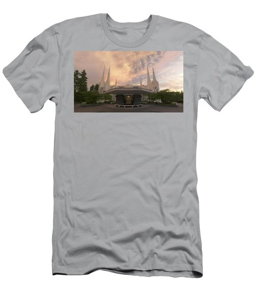 Portland Temple Men's T-Shirt (Athletic Fit)