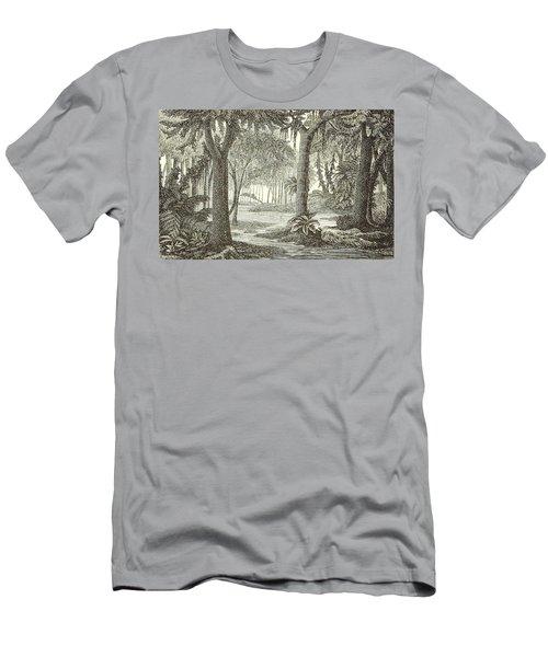 Prehistoric Flora, Carboniferous Men's T-Shirt (Athletic Fit)