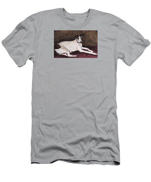 Resting Gracefully Men's T-Shirt (Slim Fit) by Angela Davies