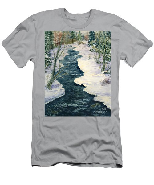 Rock Creek Winter Men's T-Shirt (Athletic Fit)
