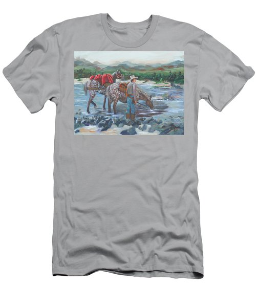 Running Gun Men's T-Shirt (Athletic Fit)