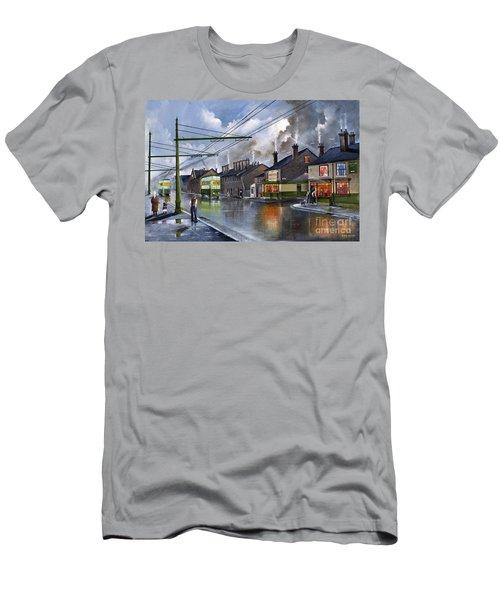 Salop Street Dudley C 1950 Men's T-Shirt (Athletic Fit)