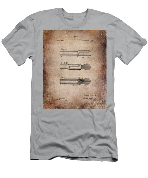 Shaving Brush Diagram 1920  Men's T-Shirt (Athletic Fit)