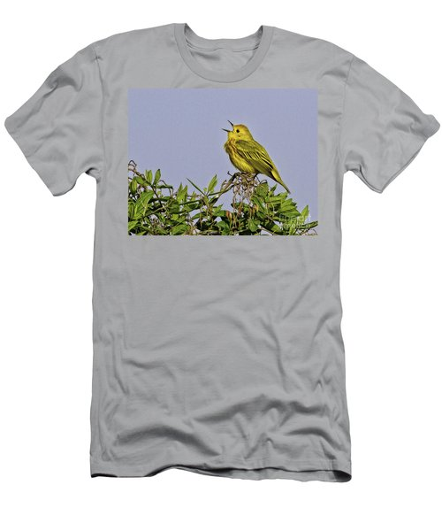 Singing Men's T-Shirt (Athletic Fit)