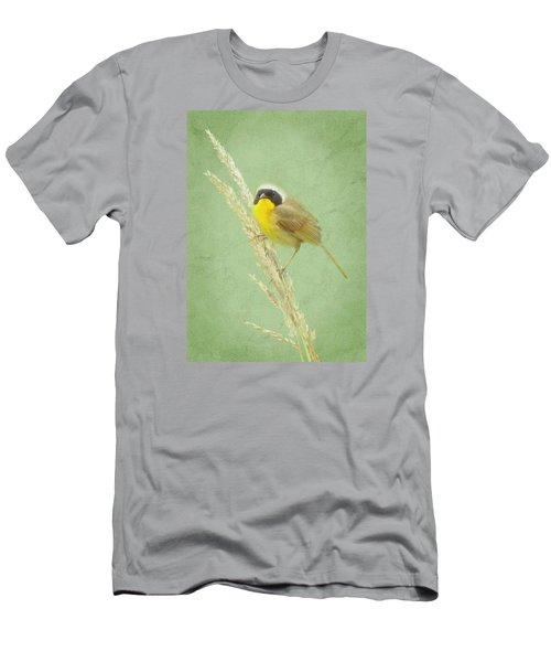 Men's T-Shirt (Slim Fit) featuring the digital art Spring In The Marsh by I'ina Van Lawick
