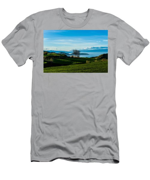 Tea Trees Men's T-Shirt (Athletic Fit)