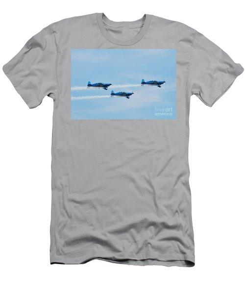 The Blades Aerobatic Team Men's T-Shirt (Athletic Fit)