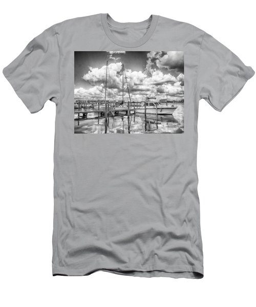 The Boat Men's T-Shirt (Slim Fit) by Howard Salmon